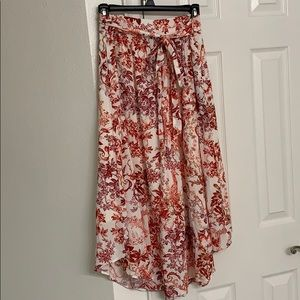 Maeve by Anthropologie floral skirt